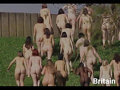 nude women group around the world