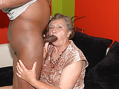 80 years old mom first interracial sex