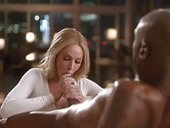 Sexy Blonde Masseuse Wants Black Cock (New)